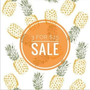 Tops - 🍍3 for $25 sale🍍